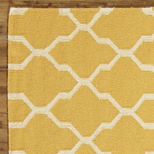 Kingsley Rug, Canary & Parchment