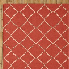 Darby Red Rug