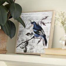 Blue Birds Wall Art II