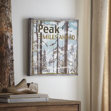 Peak Wood Wall Art