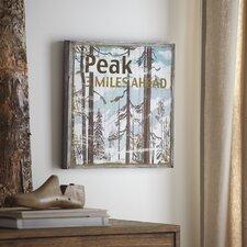Peak Wood Wall Art