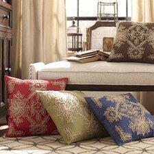 Mia Embroidered Cotton Pillow Cover