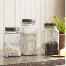 3 Piece Dyer Canisters Set