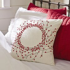 Bailey Beaded Canvas Pillow Cover