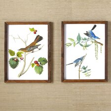 Woodland Birds Wall Art Collection