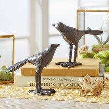 Black Bird Decor (Set of 2)