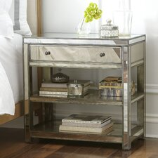 Ambrose Mirrored Console Table