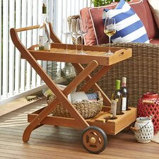 Eucalyptus Serving Cart