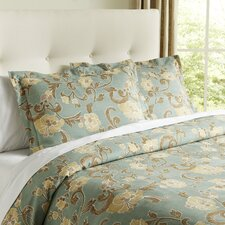Callie Blue & Ivory Bedding Collection
