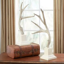Bauer Antler Statues (Set of 2)