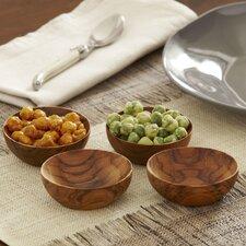 Teak Bowls (Set of 4)