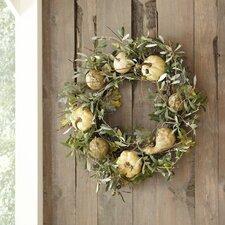 Faux Autumnal Wreath
