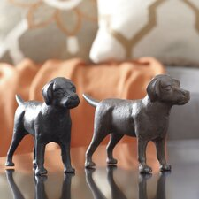 Labrador Pals Decor (Set of 2) by Birch Lane