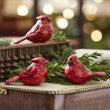 Cardinals Decor (Set of 3)