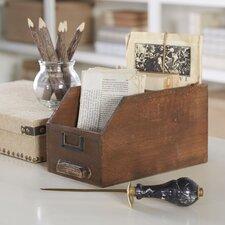 Card Catalog Keepsake Box