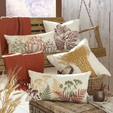 Harvest Season Embroidered Pillow Cover Collection