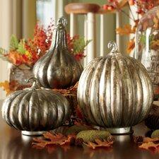 Antiqued Pumpkin Trio