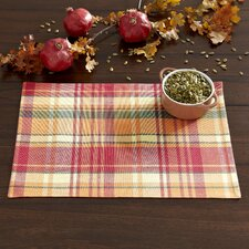Maggie Plaid Placemats (Set of 6)