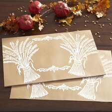 Harvest Wheat Paper Placemats (Set of 30)