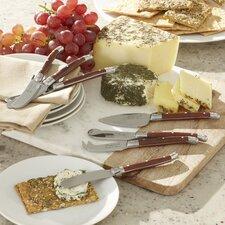 Alsace 7-Piece Laguiole Cheese Serving Set