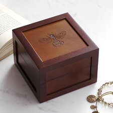 Bee Motif Medium Jewelry Box