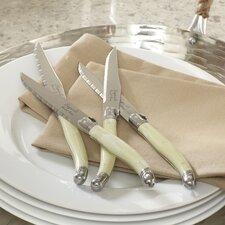 Alsace 4-Piece Laguiole Steak Knife Set