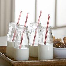 8-Piece Milk Bottle Set