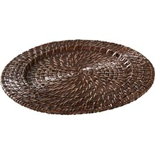 Rattan Chargers (Set of 4)