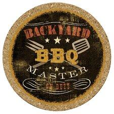 Backyard BBQ Cork Trivet