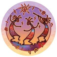 Kokopelli Dance Occasions Coaster (Set of 4)