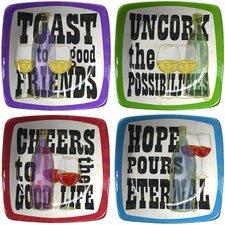 "4.65"" Toast to Good Friends Winners Appetizer"