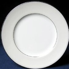"Platinum Beaded Pearl 6"" Bread and Butter Plate (Set of 4)"
