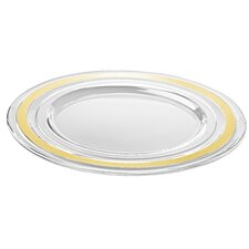 "12.5"" Glass Charger Plate"