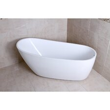 "Aqua Eden 68.13"" x 30.5"" Soaking Bathtub"