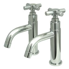 Concord Double Handle Basin Faucet Set