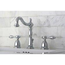 Tudor Double Handle Widespread Bathroom Faucet with ABS Pop-Up Drain
