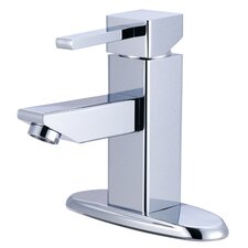 Claremont Single Handle Bathroom Faucet with Optional Deck Plate
