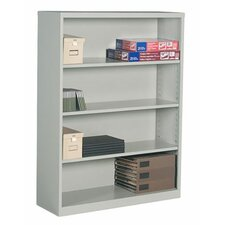 "Metal 53.5"" Standard Bookcase"