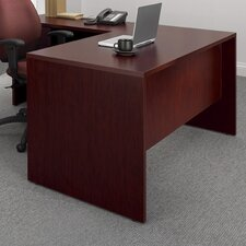 Genoa Executive Desk with Single Pedestal