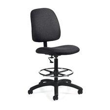 Goal Armless Drafting Pneumatic Task Chair