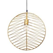 Ragtime 1 Light Globe Pendant