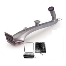 Pro Grill Cleaning Tool with Replacement Brush Set