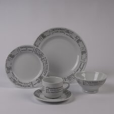 Brasserie 5 Piece Dinnerware Collection
