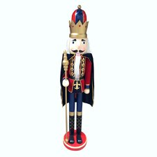 Delux Nutcracker King with Cape