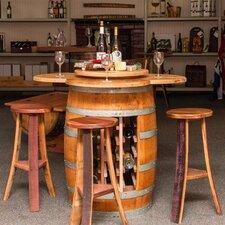 Wine Barrel 4 Piece Dining Set