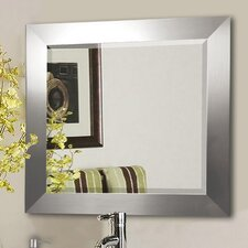 Jovie Jane Silver Wide Wall Mirror