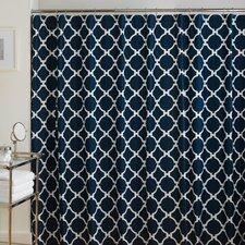 Hampton Links Cotton Shower Curtain