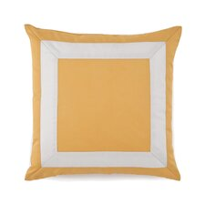 Plimpton Flame Mitered Frame Decorative Throw Pillow