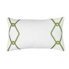 Chain Decorative Cotton Lumbar Pillow
