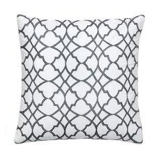 Groton Swirl Decorative Cotton Throw Pillow